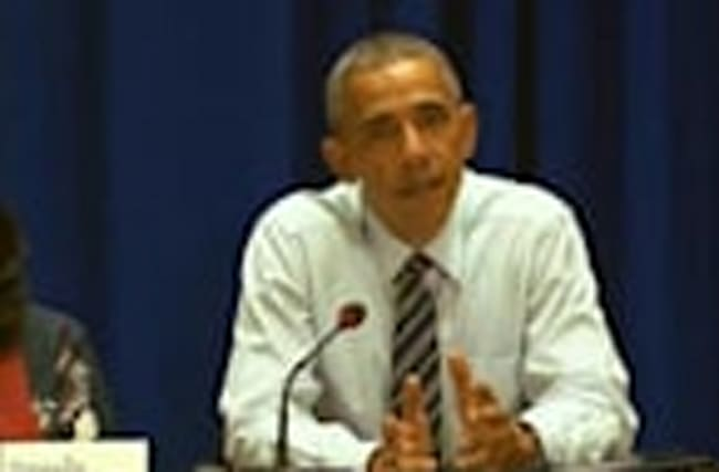 Obama says Vietnam activists barred from meeting him