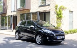 Fiesta tops chart as car sales rise for first time in a year