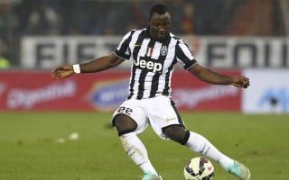 Verona v Juventus: Asamoah wants to keep pushing