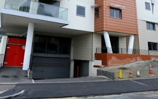 Essex luxury flats empty in row over strip of land