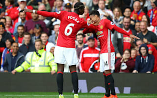 Manchester United 4 Leicester City 1: Rooney watches on as Pogba inspires Red Devils demolition