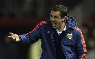Valencia v Athletic Bilbao: Neville demands reaction after derby defeat