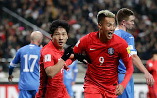 South Korea 2 Uzbekistan 1: Koo snatches vital victory