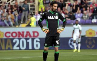 Consigli blames overconfidence for bizarre Sassuolo own goal