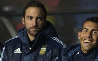 Bauza open to selecting Higuain and Tevez