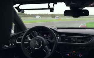 Video: Self-driving Audi RS7 tears around F1 track, no one dies