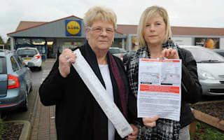 Fined £90 after getting stuck in checkout queue at Lidl