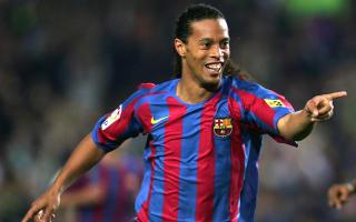 Ronaldinho returns to Barcelona