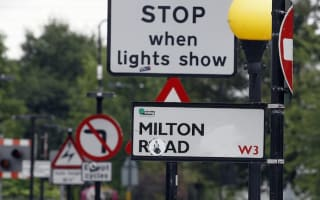 More than 9,000 'unnecessary' road signs torn down