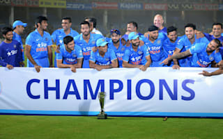 Dhoni encouraged by India display ahead of World T20