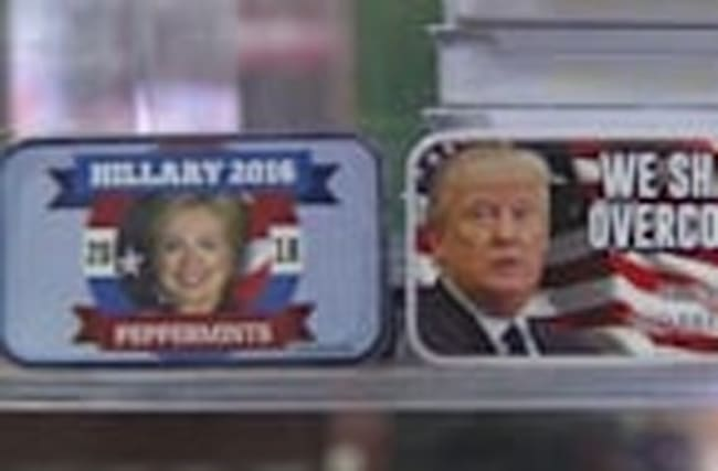 Trump v Clinton: The Souvenir edition