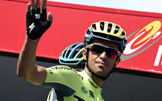 Contador hits backs at Tinkov slur