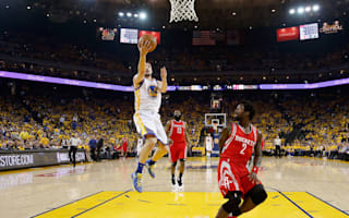Warriors cruise past Rockets without Curry