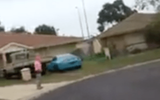 Tuned Supra crashes into house after driver loses control