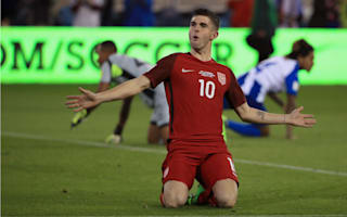 Man, he's a great player - Dempsey gushes over Pulisic performance