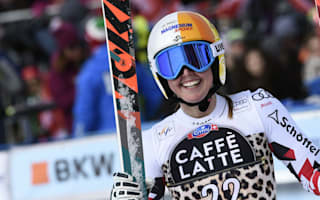 Landmark victory for Huetter as Gut closes in on World Cup glory