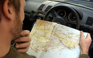 Four out of five young drivers can't read a map