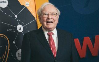 The cringeworthy celebration of Warren Buffett