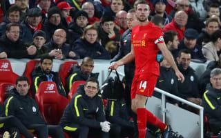 Henderson set to return for United clash