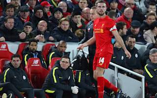 Henderson set to return for United clash