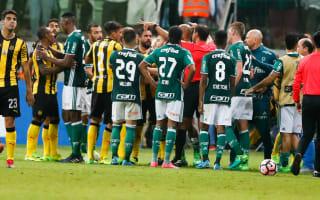 Copa Libertadores Review: Brawl erupts after Palmeiras beat Penarol
