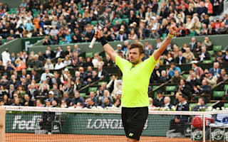 Wawrinka relieved to avoid first-round exit