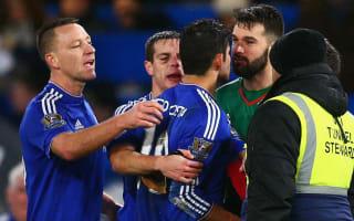 Hiddink backs Costa after tunnel incident