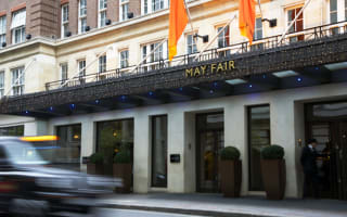 Win! A luxury stay at the May Fair Hotel and afternoon tea on a vintage bus