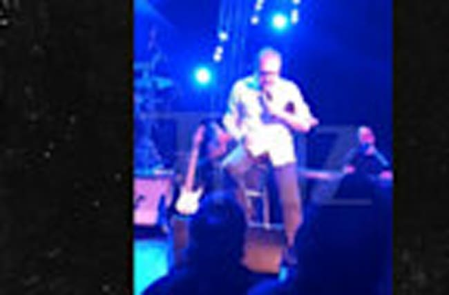 DAVID CASSIDY -- APPEARS DRUNK IN CONCERT ...Slurs, Falls, Forgets