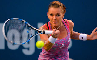 Radwanska cruises past Kvitova to set up Svitolina clash