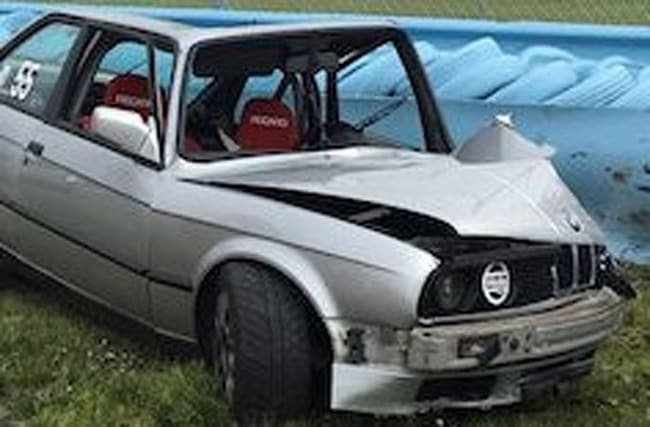 BMW driver fortunate to be alive following 110mph crash