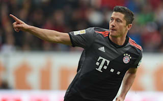 Augsburg 1 Bayern Munich 3: Lewandowski ends Bundesliga drought with double