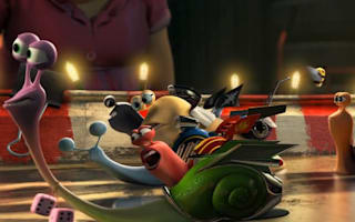 Turbo from Dreamworks es-car-goes into overdrive