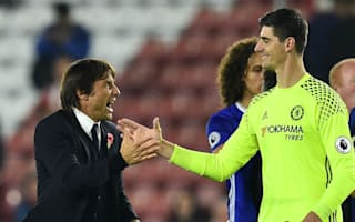 Courtois rejects talk of Madrid switch