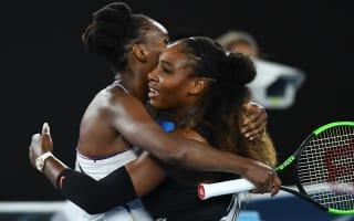Serena thanks 'inspiring' Venus after historic victory