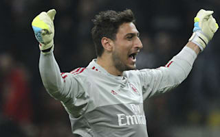 Donnarumma called up as Ventura turns to youth