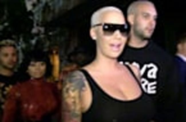 AMBER ROSE -- I'M NOT BANGING KEVIN DURANT... There Was NO Date