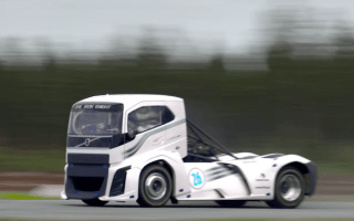 Volvo's 2,400hp truck breaks speed records