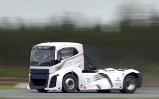 Volvo's 2,400hp truck breaks speed records