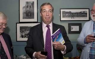 Farage brands FBI Russia probe 'person of interest' claim 'hysterical'