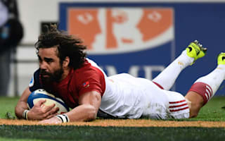 Huget marks France return with try as Vakatawa scores hat-trick