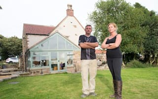 Couple's incredible farmhouse restoration may be demolished under new rail plans