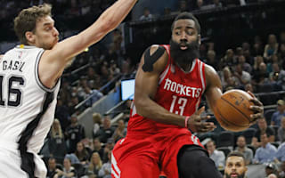 Harden helps Rockets soar over Spurs