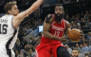 Harden helps Rockets soar over Spurs