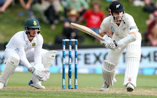 Williamson closes in on ton as New Zealand impress