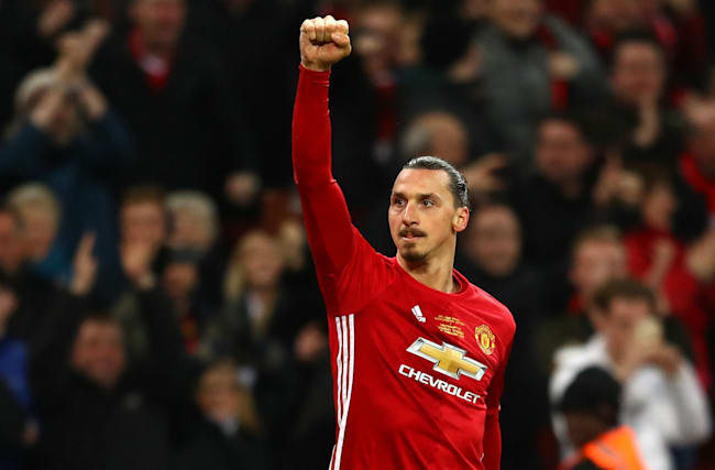 He's incredible - Carrick hails Ibrahimovic impact after EFL Cup win