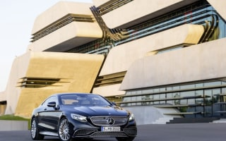 Mercedes unveils flagship AMG S-Class Coupe