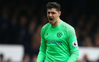 Chelsea paying no attention to Spurs' winning run - Courtois