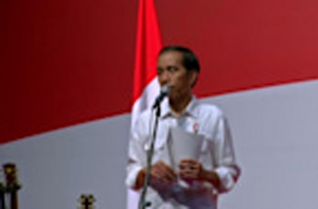 Indonesian President meets migrant workers in Hong Kong