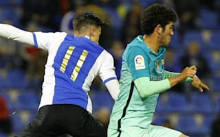 Hercules 1 Barcelona 1: Debutant Alena prevents embarrassing defeat